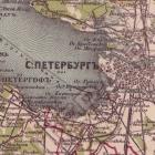 Карта Стрельбицкого Санкт-Петербургской губернии