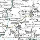 Карты Псковской губернии из атласов