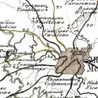Карты старой Москвы