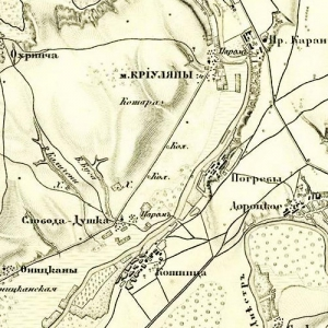 Карты Шуберта Бессарабской губернии