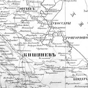 Карты Бессарабской губернии