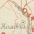Карты уездов Курской губернии