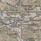 Карта Центральной и Западной Украины