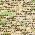 Карта Стрельбицкого Рязанской губернии