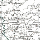 Карты Прибалтийских губерний из атласов