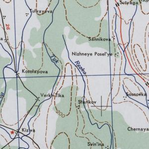 Карты США Пермской области