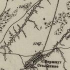 Карта Шуберта Пензенской губернии
