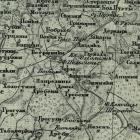 Карта Шуберта Прибалтийских губерний