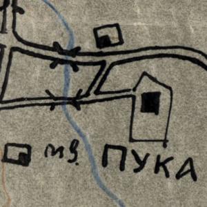 Схема расположения 5 Отд Мех Отряда