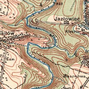 Польские карты(WIG) Украины