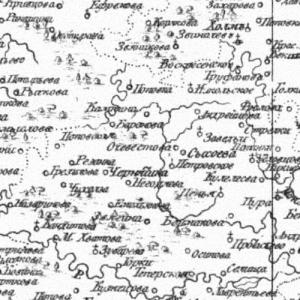 Карты Ярославской губернии из атласов