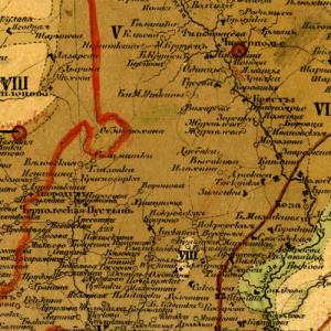 Сборник карт Нижегородской губернии