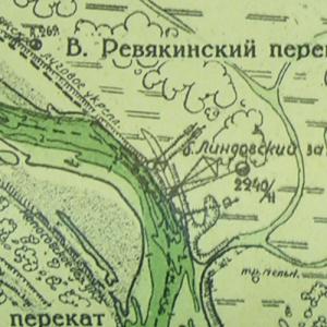 Лоцманские карты реки Волга