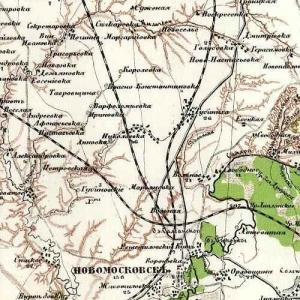 Десятиверстная карта Крыма