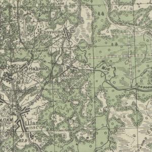 Карты РККА Ленинградской области