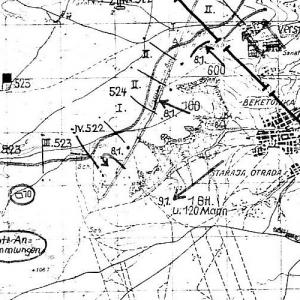 Немецкие планы Сталинградской области