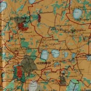 Сборник карт Оренбургской губернии