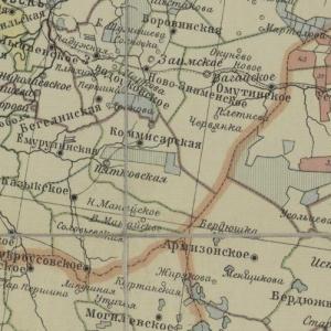 Большая подборка карт Сибири