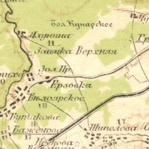 Оренбургская губерния на картах Стрельбицкого