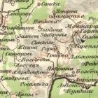 Карта Стрельбицкого Смоленской губернии