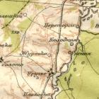 Старинные карты Курской губернии для кладоискателей
