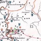 карты Костромской губернии и ее уездов