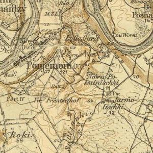 Немецкая карта Каунаса