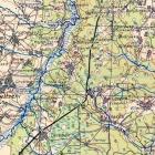Немецкая карта Орловской области