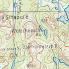 Немецкая карта Мурманской области