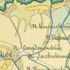 Карты уездов Вятской губернии