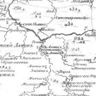 Карты Пензенской губернии из атласов