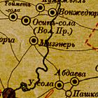 Старинные карты уездов Казанской губернии