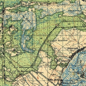 Карты РККА Белоруссии