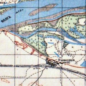 Карты Генштаба Красной Армии