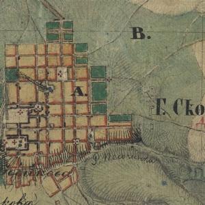 Карта Менде Рязанской губернии