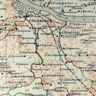 Карта Рыбинского уезда