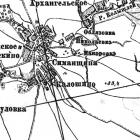 Топографическая карта Cаратовской губернии