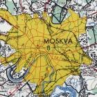 Карты Московской области армии США