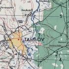 Карта США Тамбовской области