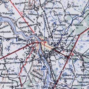 Карты США Псковской области