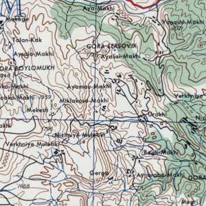 Старинные карты Кавказа и Краснодарского края