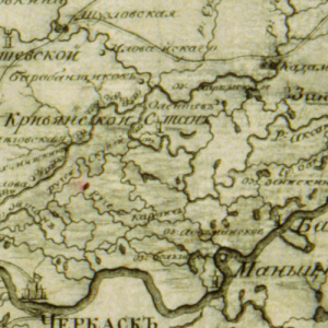 Генеральная карта Земель Войска Донского