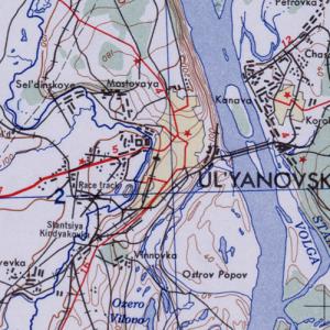 Карты США Ульяновской области